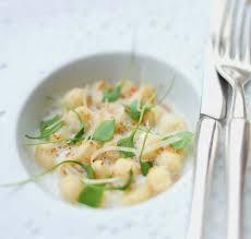 cuisine panais recette gnocchis de panais sauce au raifort