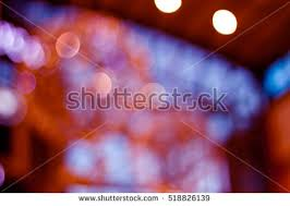 beautiful colored lights reflexions on stock photo 168053471
