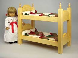 How To Make Wooden Doll Bunk Beds by Toy Furniture Plans To Build A Barbie Bunk Bed