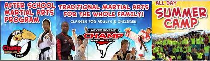 Champ Martial Arts Home