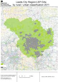 Leeds England Map by Local Enterprise Partnership Simple Rural Urban Maps Census 2011