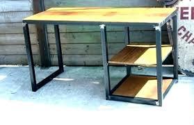bureau bois noir bureau bois noir bureau en hauteur cm with bureau en mal bureau