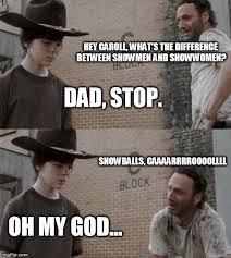 Hey Carl Meme - rick carl snow heh pinterest carl meme dad jokes and memes