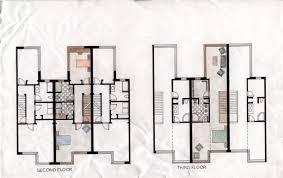 Row House Plans Row Housing Plans Codixes Com