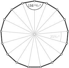 How Many Interior Angles Does A Pentagon Have Heptadecagon Wikipedia