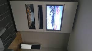 modular wall unit for tv fireplace soundbar