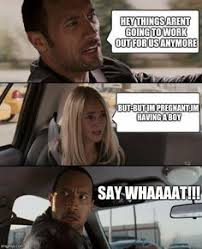 The Rock Driving Meme - pentecostals speaking in tongues reformed humor pinterest