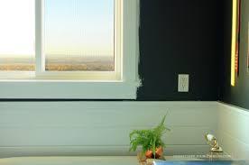 Bathroom Window Trim October 2014
