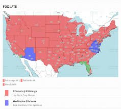 Troy New York Map by New York Giants Vs Pittsburgh Steelers Tv Coverage Map