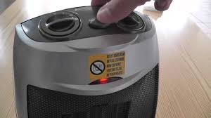 fan and heater combo tower ceramic fan heater with adjustable thermostat unboxing first