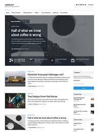 lenscap magazine and news wordpress theme u2022 array themes