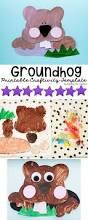 groundhog day printable craft for kids keeping life creative