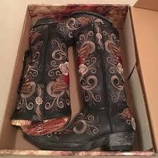 gringo s boots size 9 gringo nib gringo grace 13 black cowboy boots 9