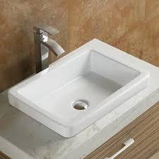 Ceramic Bathroom Fixtures Modern Bathroom Sinks Allmodern