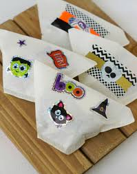 coffee filter halloween treat bags non candy halloween ideas