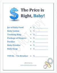 baby showergames printable baby shower baby shower in a box baby
