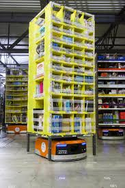 Amazon Stair Gate Amazon Unveils New Army Of Warehouse Robots Warehouse Robot And