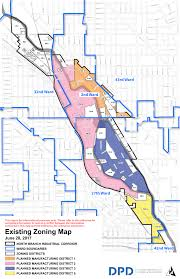 City Of Austin Zoning Map by North Branch Corridor Could Open To New Zoning Uses By The End Of