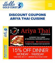 discount cuisine ariya cuisine home