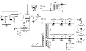 tube am broadcast transmitter how it works wiring diagram components