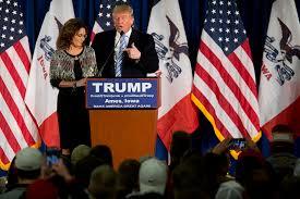 sarah palin u0027s endorsement of donald trump touches off a war for