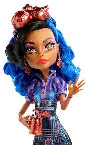 monster high skelita halloween costume amazon com monster high art class robecca steam doll toys u0026 games