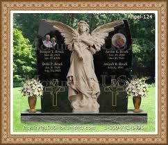 legacy headstones angel headstones