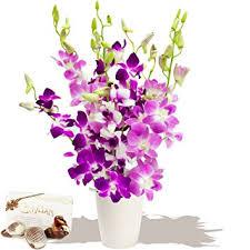 Orchid Bouquet Tokyo Orchids Bouquet U0026 Chocolates Florist Arranged Fresh