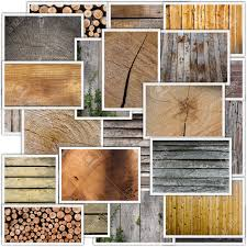 collage of different types of woods planks floors timber