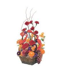 fruit and flower basket fruits and flowers basket tf157 4 61 16
