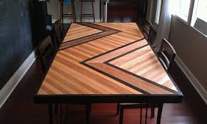 Make A Picnic Table Out Of One Sheet Of Plywood by 11 Diy Dining Tables To Dine In Style