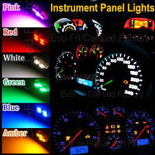 dashboard led light bulbs t10 6 colors 194 led 12v light dashboard instrument gauge light bulb