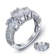 vintage style engagement rings popular 2 carat engagement rings buy cheap 2 carat engagement