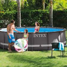 Intex Ultra Frame Pool 14x42 Intex 15 Foot X 48 Inch Ultra Frame Above Ground Swimming Pool Set