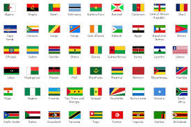 design elements african country flags design elements africa