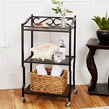 Bathroom Storage Cart Chapter 3 Shelf Bathroom Storage Cart Home Kitchen