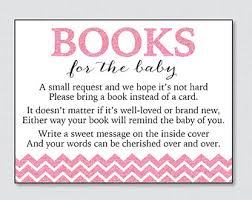 bring a book instead of a card baby shower baby shower bring a book instead of a card invitation inserts