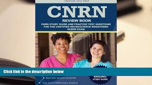 audiobook cnrn review book cnrn study guide and practice test
