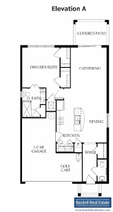 Garden Floor Plan by Del Webb Orlando Davenport Florida The Gardens Floor Plan