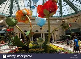 Botanical Gardens In Las Vegas Exhibits In Botanical Garden Conservatory Bellagio Hotel Las