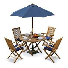 Tuscany Outdoor Furniture by Tuscany Outdoor Dining Set Teak Garden Table Chairs Cushions
