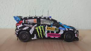 hoonigan cars real life 1 43 ford fiesta rs wrc ken block alex gelsomino rally racc 2014