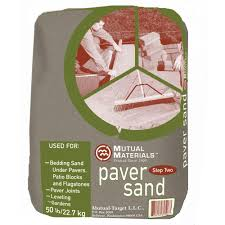 Sand For Patio Pavers by Mutual Materials 50 Lb Step 2 Paver Sand Mb050pvsd000 The Home