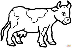 letter c is for cow coloring page free printable pages photo