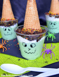witch snack pack pudding parfaits kitchen concoctions