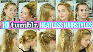 10 cute u0026 easy hairstyles for summer youtube