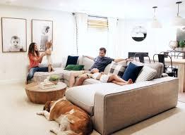 custom made a lifestyle blogger u0027s family room renovation