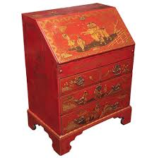 english george iii chinoiserie lacquered secretary for sale at 1stdibs