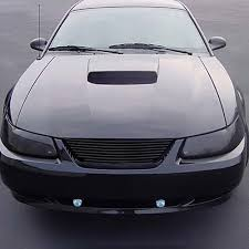 Black 98 Mustang 94 98 Ford Mustang Carriage Works Billet Grille All Black
