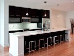 one wall kitchen designs with an island popular one wall kitchen layout with island my home design journey